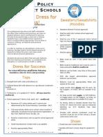 dress code newsletter