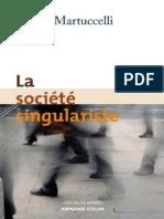 La société singulariste, par Danilo Martuccelli