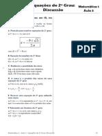 semana-3-1ª-corrigido-Mat-01-Equações-do-2º-Grau