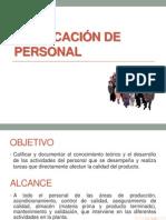 CALIFICACIÓN DE PERSONAL