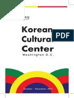 10-12 Korean Cultural Center DC