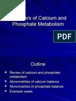 Disorders of Calcium and Phosphate Metabolism