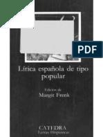 Lirica Espanola de Tipo Popular
