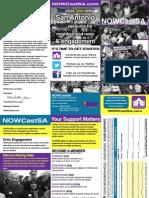 NOWCastSA Membership Brochure
