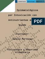 Brotes Epidemiológicos por Antinutrientes