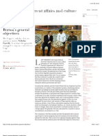 Burma's general objectives | Inside Story