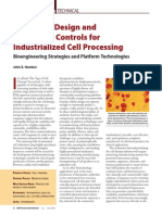 Bioreactor Design and Bioprocess Controls for Industrialized Cell Processing