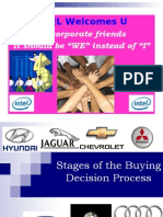 Stages of the Buying Decision Process