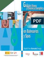 Guia de Ahorro y Eficiencia Energetica en Balnearios y Spas Fenercom 2011