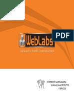 Brochure WebLabs 2010