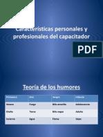 Caracteristicas Personales y Profesionales Del Capacitador[1]