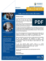 Halls News Issue Six 2013