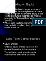 Shares and Related Concepts