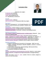 CV  Ferhane Fethi- Manager Marketing de l'Innovation Technologique