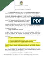 Edital n 70 Caxias 2012doc