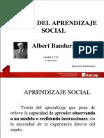 Teoría del Aprendizaje Social
