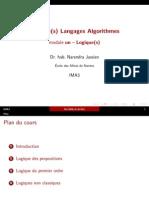 Cours Logique La Transparents m1