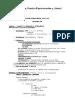 programa materia educacion practica 2009