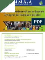 Cartilla Educación Ambiental GIRS