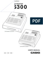 Casio SE-S300 users and programming