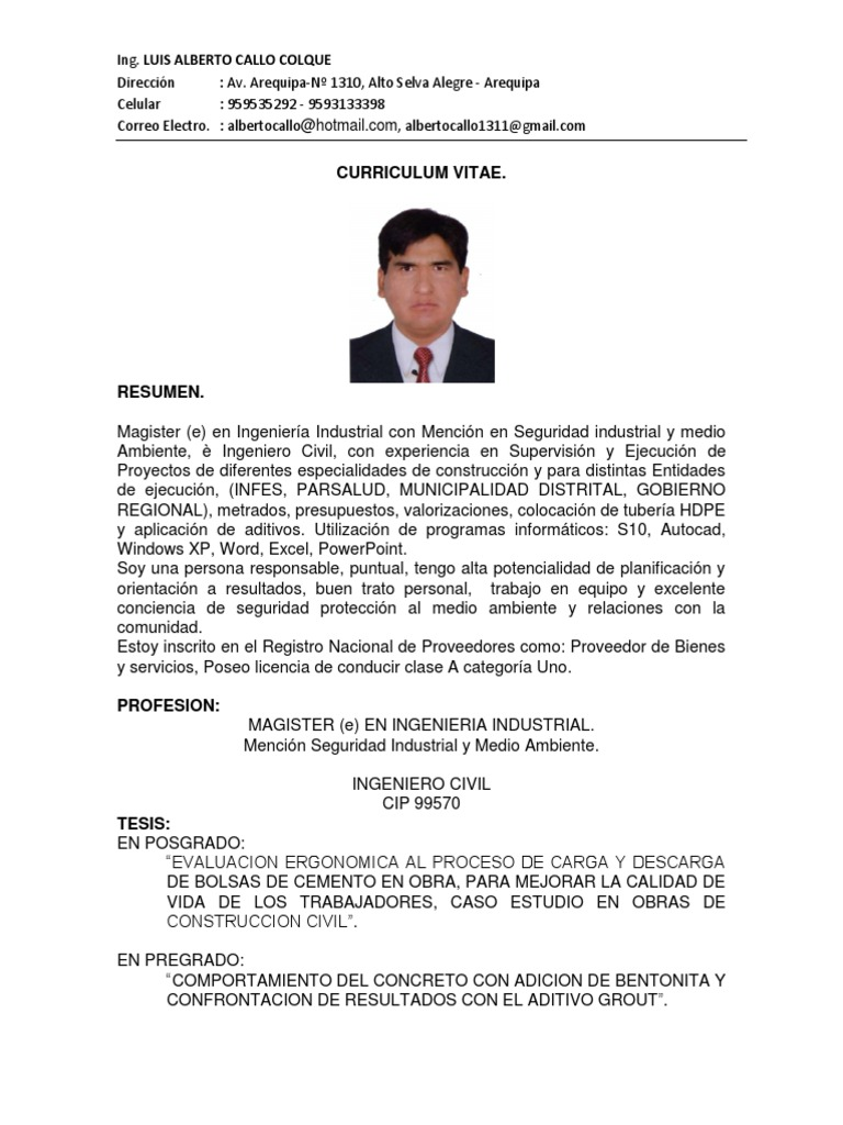 Moderno Descarga De Formato De Currículum Gratis Para Ingeniero ...
