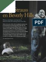 Lévi-Strauss en Beverly Hills
