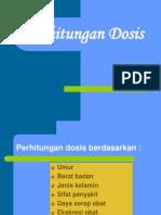 Perhitungan Dosis Kuliah Farset I