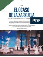 El Ocaso de La Zarzuela