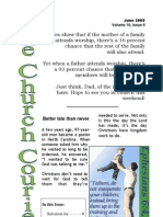 The Church Courier, June 2009
