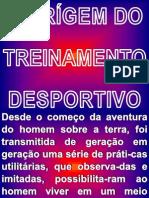 HISTÓRIA DA ORÍGEM DO TREINAMENTO DESPORTIVO 1