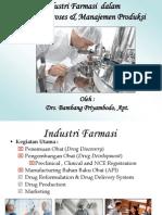 Kuliah Umum- Tinjauan Proses Produksi UAD