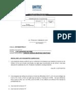 examen INTERCUATRIMESTRAL ESTADISTICA 2