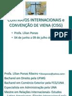 CURSO DE CONTRATOS INTERNACIONAIS e CONVENÇÃO DE VIENA (CISG