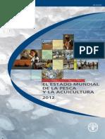 Estado Mundial de La Pesca y Acuicultura FAO 2012