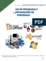 Manual Montaje de Programas y Configuración de Perifericos