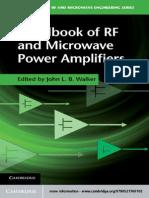 Handbook of RF and Microwave