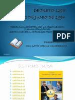 Decreto 1295 Salud Ocupacional