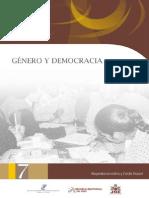 7 - Género y Democracia