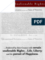 Certain Inalienable Rights