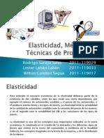 Elasticidad y Tecnicas de Proyeccion