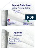 Meeting Thinking and Coding - Slides 1pp