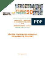 Freixo50 Programa de Governo v5