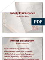 UI Maintenance Management System - Slides 1pp