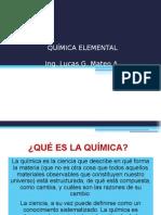 Química Elemental Clases