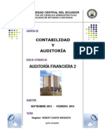 Auditoria Financiera 2 CA