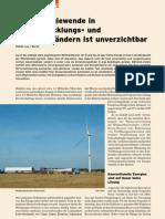 Energiewende in Entwicklungs- und Schwellenländern