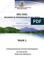 Tajuk 1- Pkmbgn Sistem Pendidikan Di Malaysia