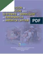 Compilación de legislación sobre sistemas de servicios de emergecnia en América Latina