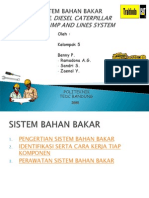 Sistem Bahan Bakar Engine Diesel Caterpillar With Pump