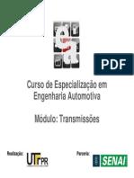 [Apostila - UTF-PR] Curso de Especialização em Engenharia Automotiva - Módulo Transmissões I